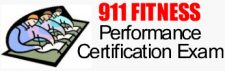911 Fitness Performance Certification Exam