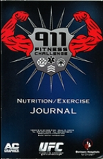 911 Fitness Nurtition and Exercise Journal